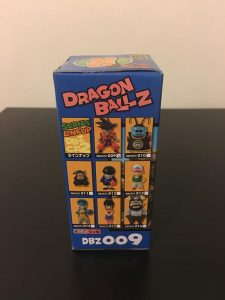 Dragon Ball Z WCF Vol. 2 Back of Box