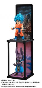 Tamashii Buddies SSGSS Goku and Beerus