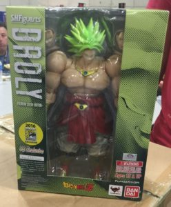SH Figuarts Broly SDCC 2016 Packaging