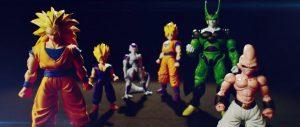 Figure Rise Standard Buu and SS3 Goku