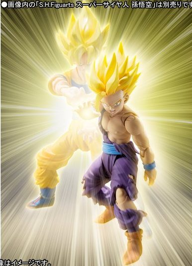 SH Figuarts Super Saiyan Son Gohan (with battle damage)