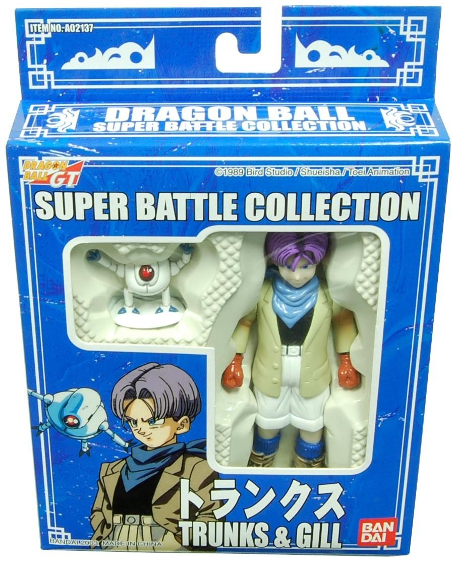 Super Battle Collection – Trunks and Gill (2003 Re-Release)