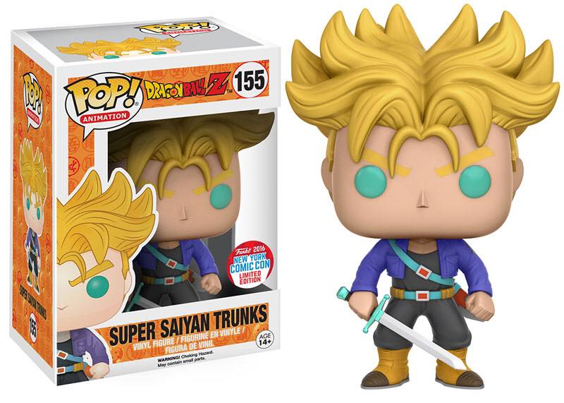 NYCC Exclusive: Super Saiyan Trunks by Funko