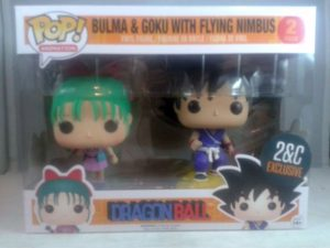 2&C Exclusive: Funko POP! Goku and Bulma