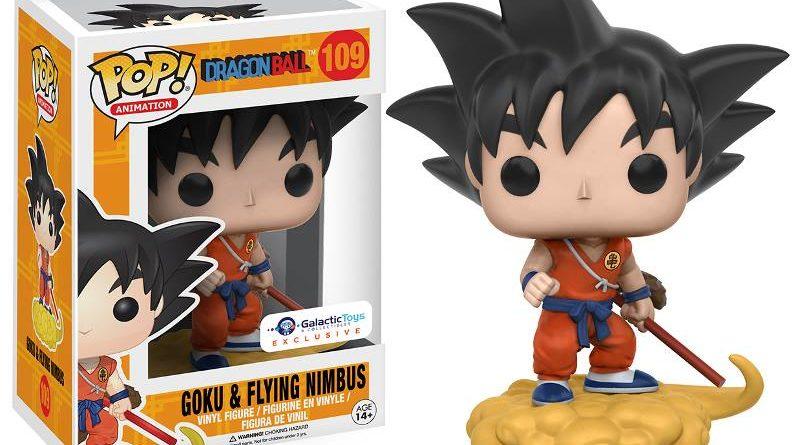 Funko POP! Goku with Nimbus