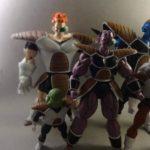Custom Ginyu Force Figures by Jamal Wright