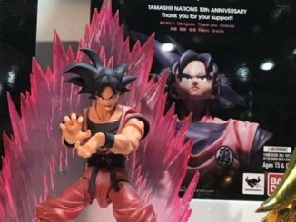 SH Figuarts Kaioken Goku