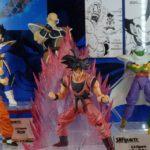 """SH Figuarts Dragon Ball Z """"Saiyan Saga"""" Display"""