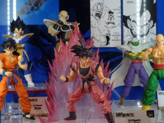 "SH Figuarts Dragon Ball Z ""Saiyan Saga"" Display"