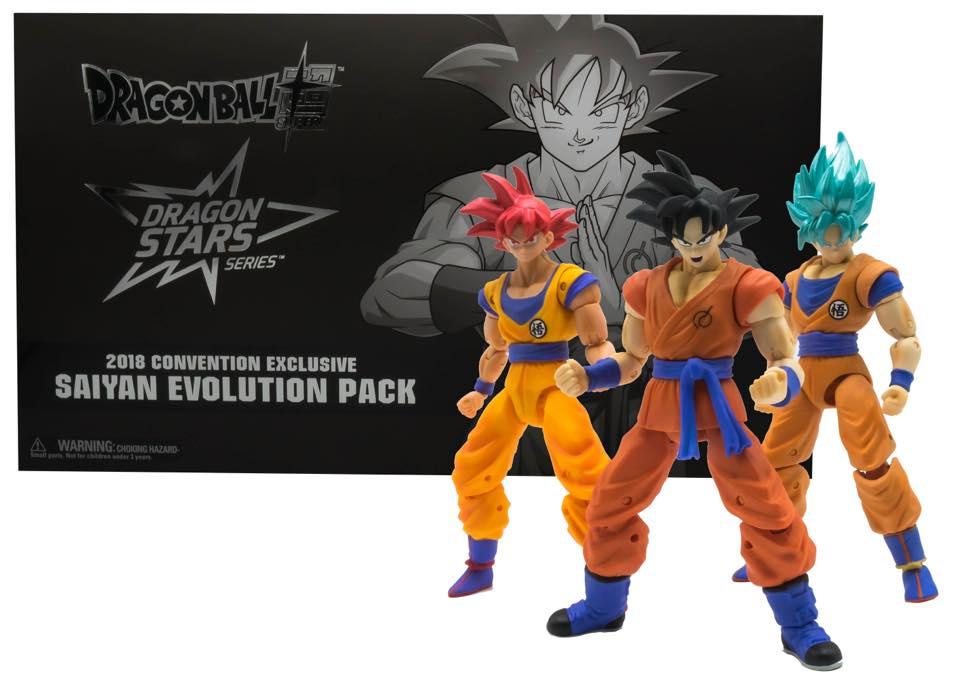 Dragon Stars Saiyan Evolution Pack