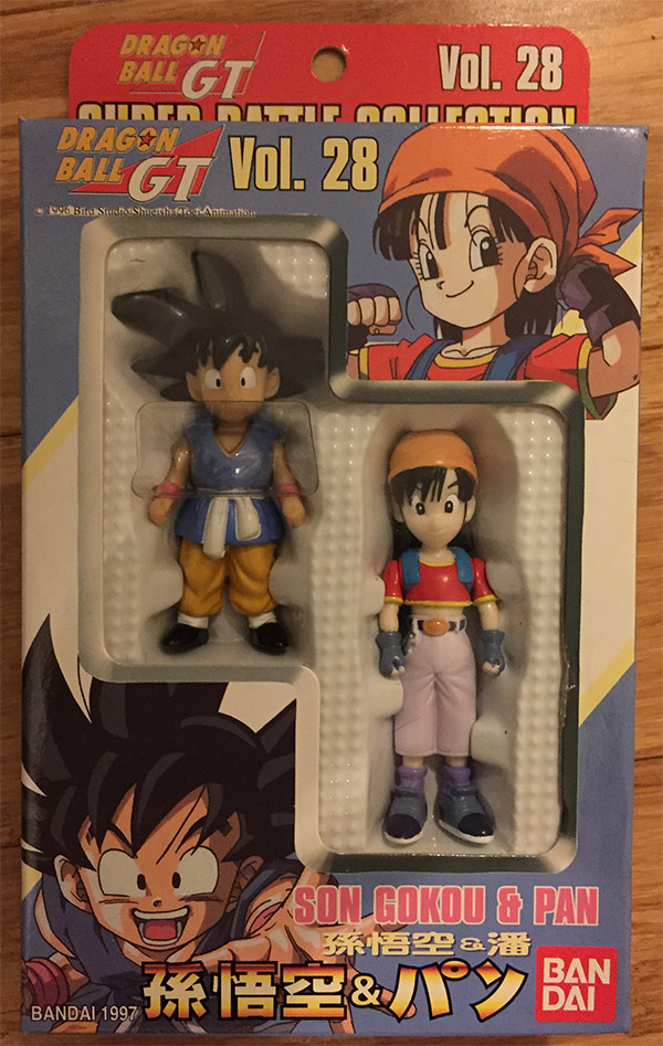Super Battle Collection Vol. 28 - Son Gokou and Pan