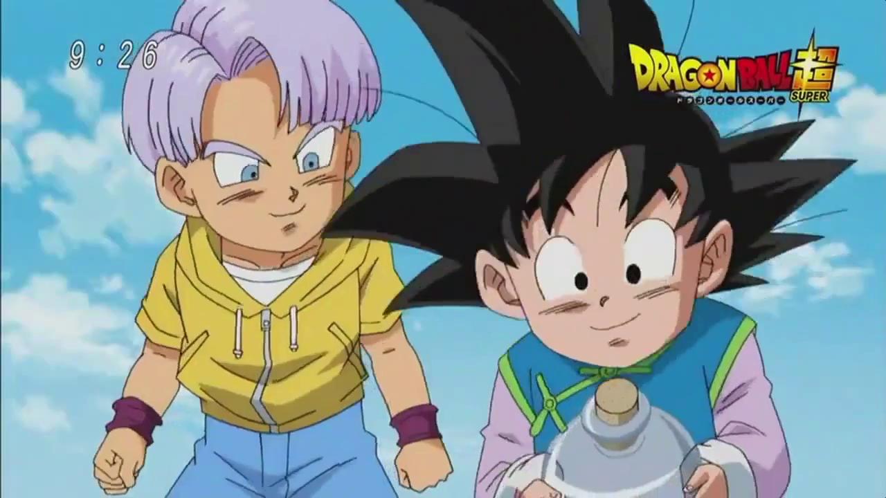 Dragon Ball Super Preview Trunks and Goten
