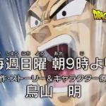 Dragon Ball Super Preview Vegeta