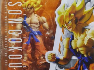 SH Figuarts Warrior Awakening Goku