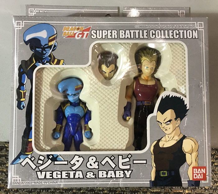 Super Battle Collection - Vegeta and Baby (2003 Re-Release)