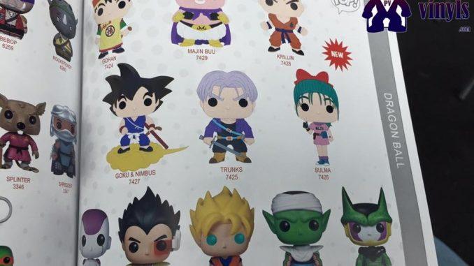 New Dragon Ball Z POP! Vinyls by Funko