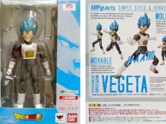 SH FIguarts Super Saiyan God Super Saiyan Vegeta Packaging