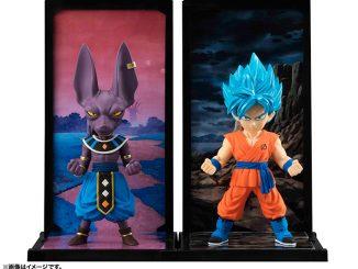 Tamashii Buddies SSGSS Goku and Beerus
