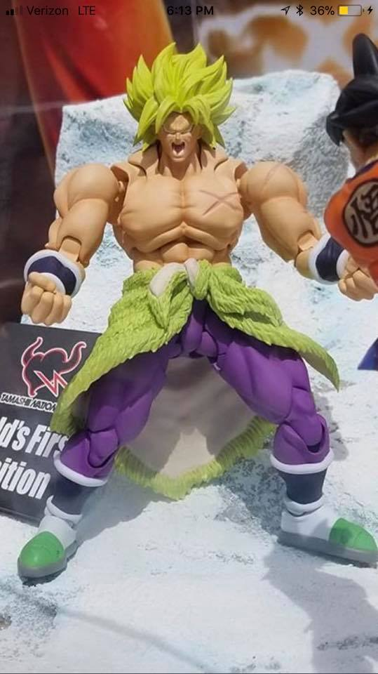 SH Figuarts Broly (Dragon Ball Super: Broly) - DBZ Figures.com