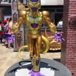 Life Size Golden Frieza Statue