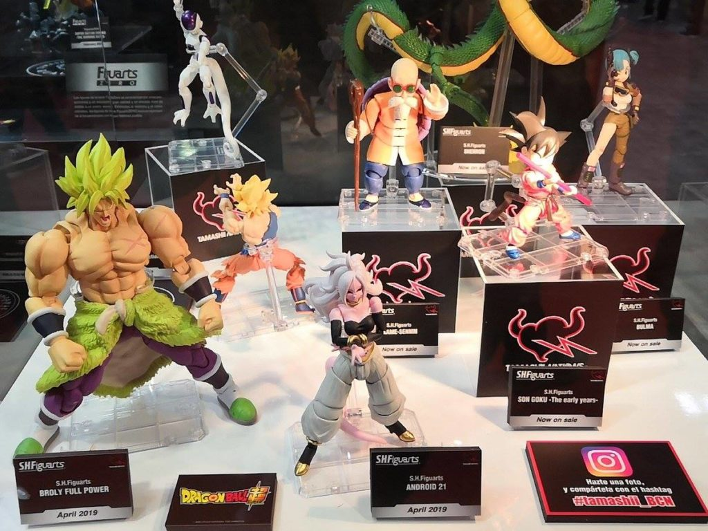 S.H. Figuarts Android 21 and Broly