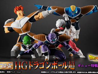 HG Dragon Ball Ginyu Force Sentai Set