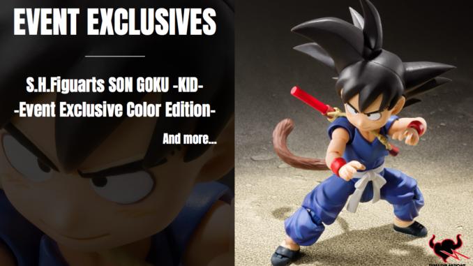 Dragon Ball Tour Exclusive - SH Figuarts Kid Goku