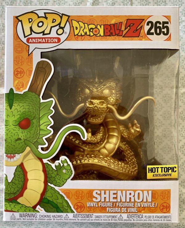 Funko Pop - Golden Shenron #265 (Hot Topic)