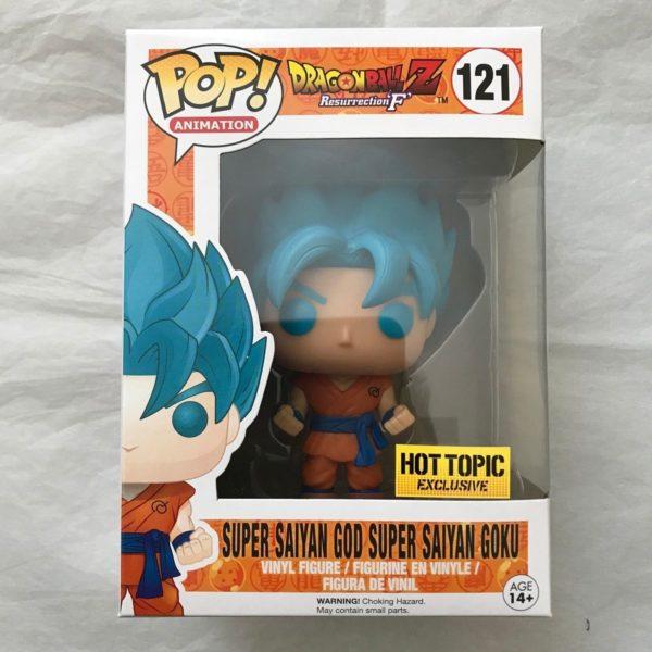 Funko Pop - Super Saiyan God Super Saiyan Goku