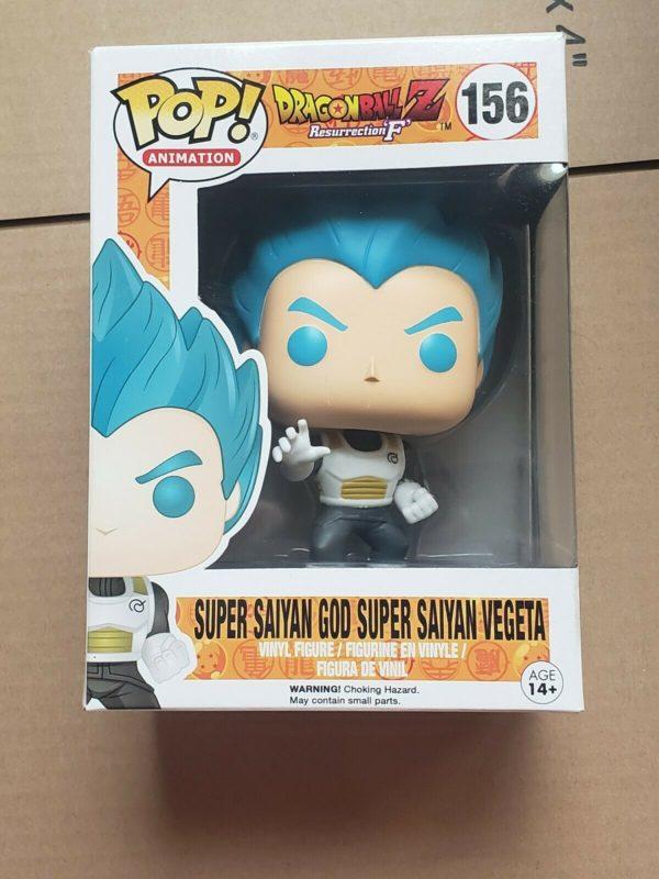 Funko Pop - Super Saiyan God Super Saiyan Vegeta #156