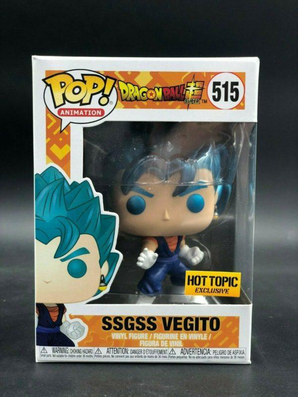 Funko Pop - SSGSS Vegito (Hot Topic)