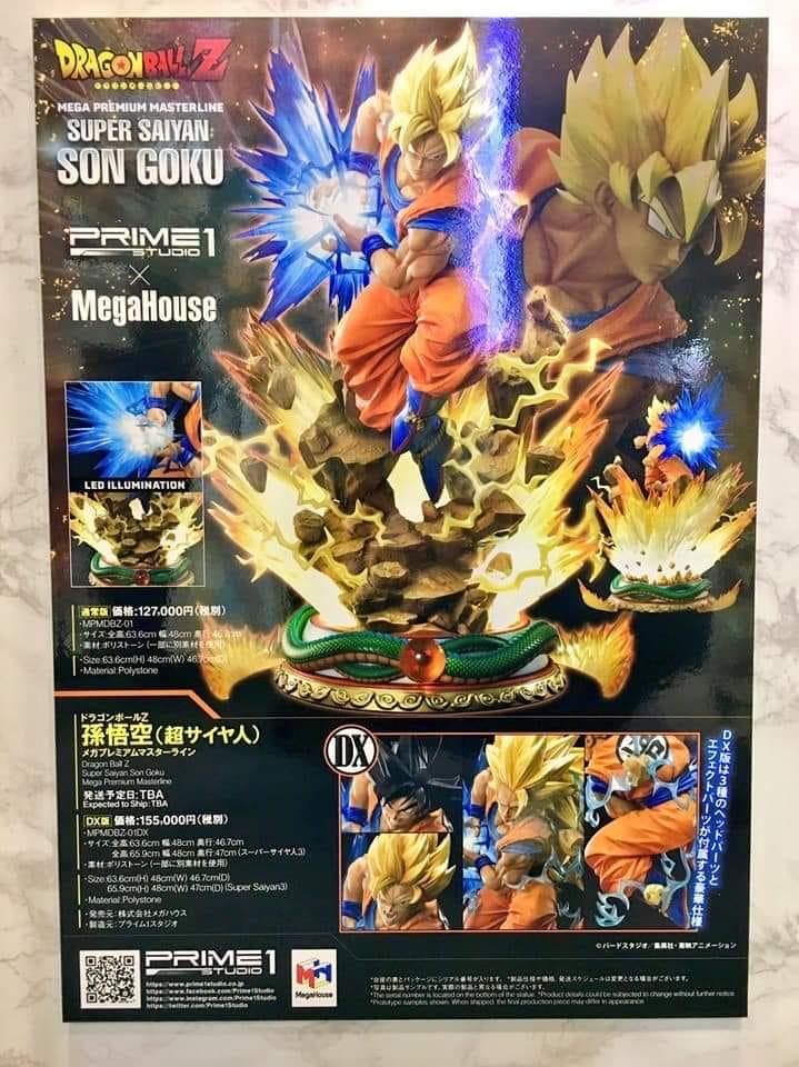 Prime 1 Studio x MegaHouse Mega Premium Masterline Super Saiyan Son Goku